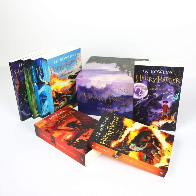 Pack Regalo Libros Harry Potter